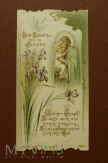 Św Józef z Dzieciątkiem