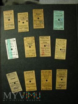 bilety kartonowe