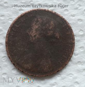 Half Penny 1862 Anglia