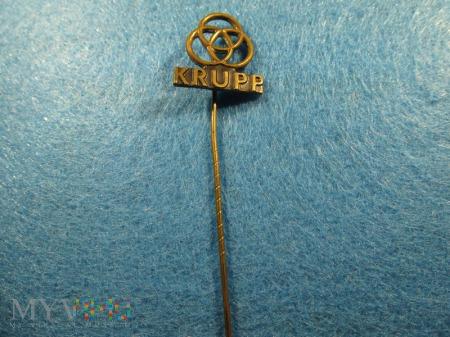"""Odznaka """"resortowa"""" KRUPP"""