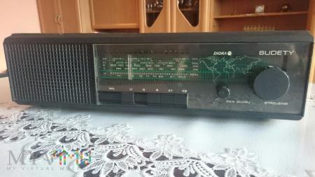 Radio Sudety R-208 Diora czarny