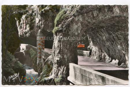 Duże zdjęcie Alpy - Vercors - droga - lata 50-te