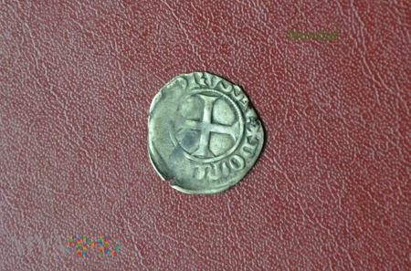 Moneta krzyżacka: kwartnik 1351-1382
