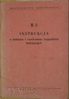 1962 - R 3 Instrukcja o badaniu wypadków kol.
