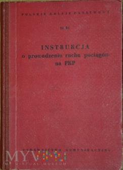 1957 - Instrukcja o prowadzeniu ruchu poc.