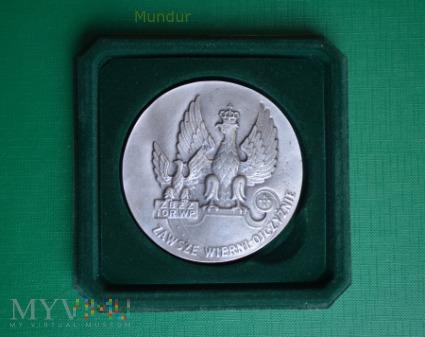 """Medal """"XXV - lecie ZBŻZ i OR WP"""""""