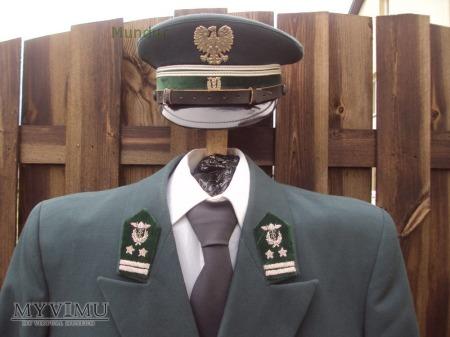 Mundur służbowy funkcjonariusza celnego PRL