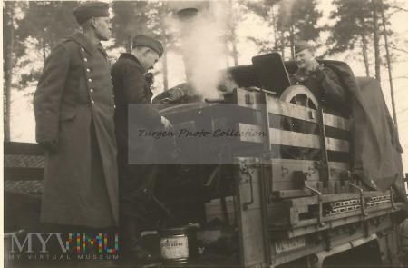 Kuchnia polowa Luftwaffe.