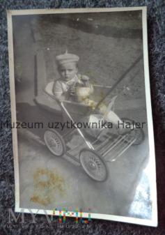 Stary wózek spacerowy dziecięcy Zdjęcie