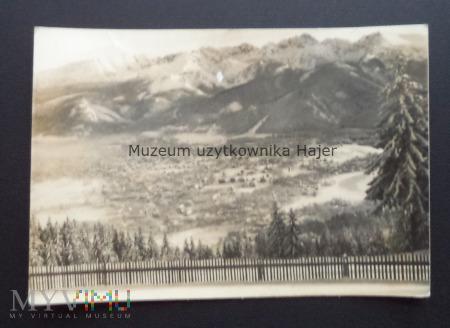 ZAKOPANE Panorama Tatr Wysokich z Gubałówki