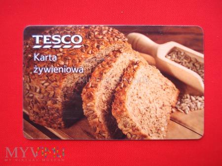 Duże zdjęcie Karta żywieniowa Tesco