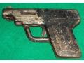 Zobacz kolekcję Korkowiec ,  pistolet z odpustu - zabawka PRL-u