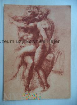 Michel-Angelo Studie zu Adam i Eva