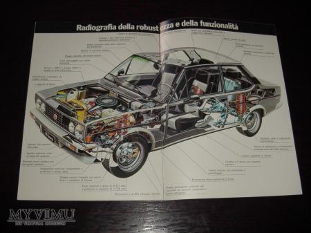 Prospekt FIAT 131 RACING TC