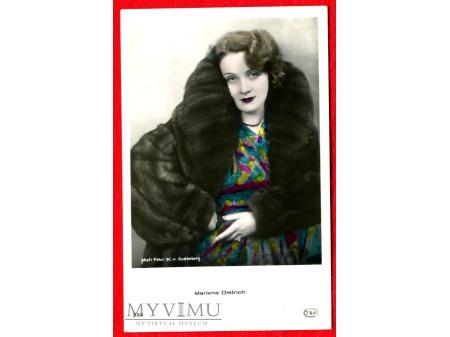 Marlene Dietrich JSA Marlena nr 230