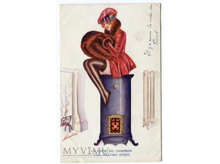 Kryzys Grzewczy 1918 Xavier Sager Dama na piecu