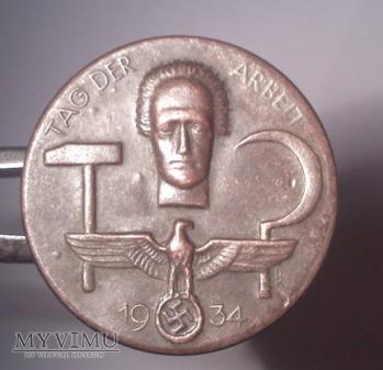 Niemiecka odznaka TAG DER ARBEIT