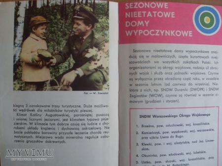 Wojskowe Ośrodki Wypoczynkowe-1974r