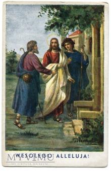 pocztówka WESOŁEGO ALLELUJA A. Sawicki