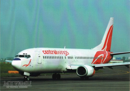 Boeing 737-4Q8, SP-LLI, Centralwings
