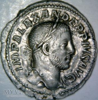 Denar, Aleksander Sewer (222-235)-RIC IV 250 (C)