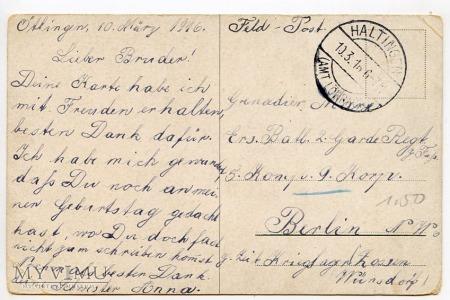 Dachshund - Jamnik myśliwy - 1916