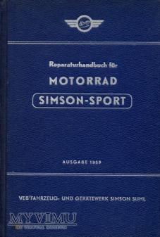 AWO Simson-Sport. Instrukcja napraw z 1959 r.