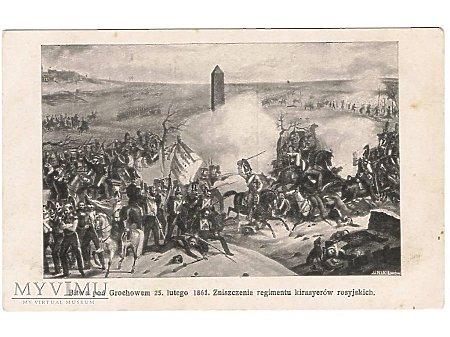 Bitwa pod Grochowem.
