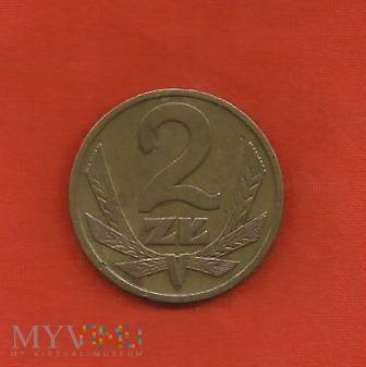 Polska 2 złote, 1976 / 1977