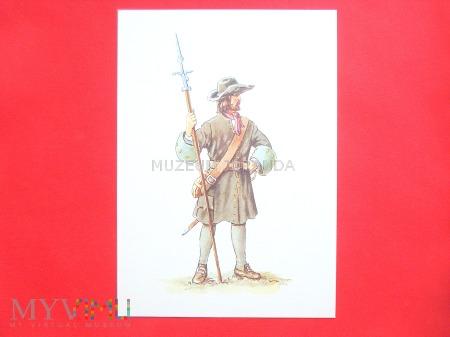 Puszkarz artylerii 1680