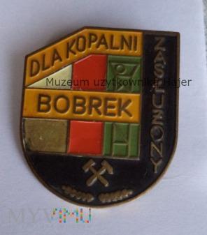 ZASŁUŻONY DLA KOPALNI BOBREK - odznaka lakier