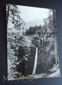 TATRY - Wodospad Siklawica w Dolinie Strążyskiej