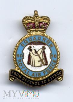 Odznaka 50 Dywizjonu Bombowego RAF-u