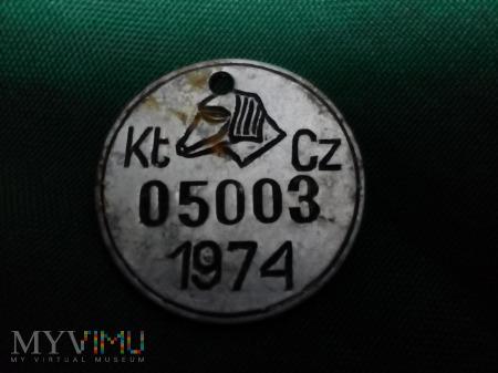 PSI IDENTYFIKATOR 1974 ROK CZĘSTOCHOWA