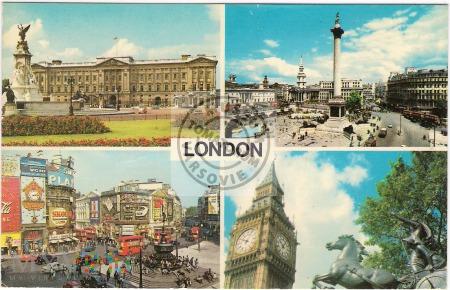 London - lata 70-te XX w.
