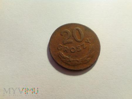 Duże zdjęcie 20 groszy 1949 Rzeczpospolita Polska