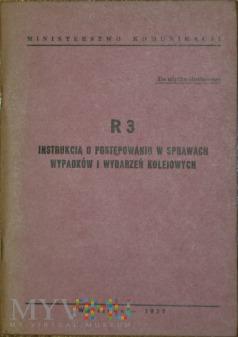 1977 - R 3 Instrukcja w sprawach wypadków kol.