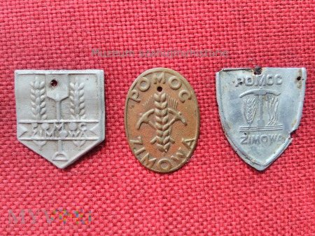 odznaki polskiej pomocy zimowej