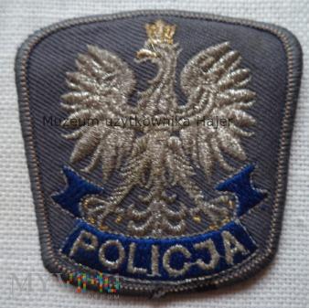 Duże zdjęcie Policja - orzełek z czapki 6 cm x 6 cm