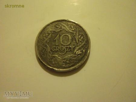 10 groszy z 1923r.