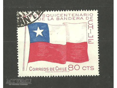 Flaga Chile.