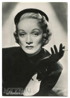 Marlene Dietrich Real photo Rotalfoto Postcard