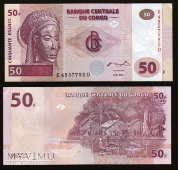 Congo - P 91 - 50 Francs - 2000