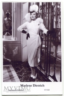 Marlene Dietrich Swiftsure Postcards 17/122