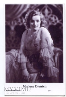 Marlene Dietrich Swiftsure Postcards 17/1