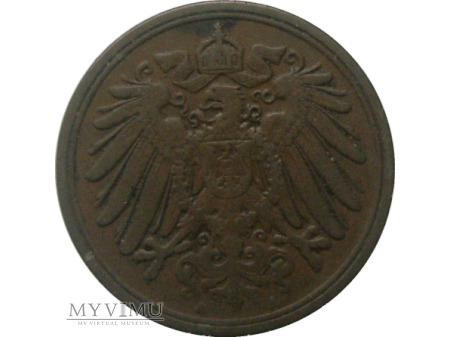 1 Pfennig 1904 rok.