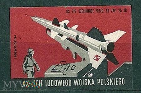 XX-Lecie Ludowego Wojska Polskiego.8.1963.Czechowi