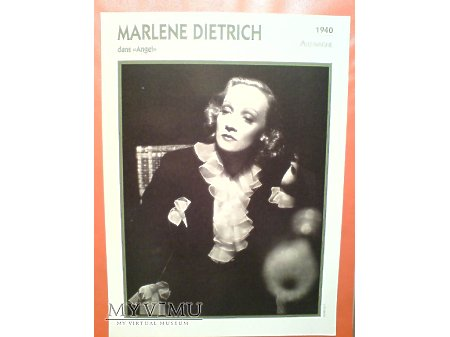 Marlene Dietrich ANGEL 1937 FRANCJA