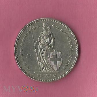 Szwajcaria 2 franki, 1988