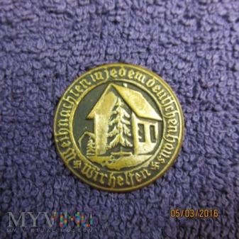 Znaczek-odznaka Pomocy Zimowej